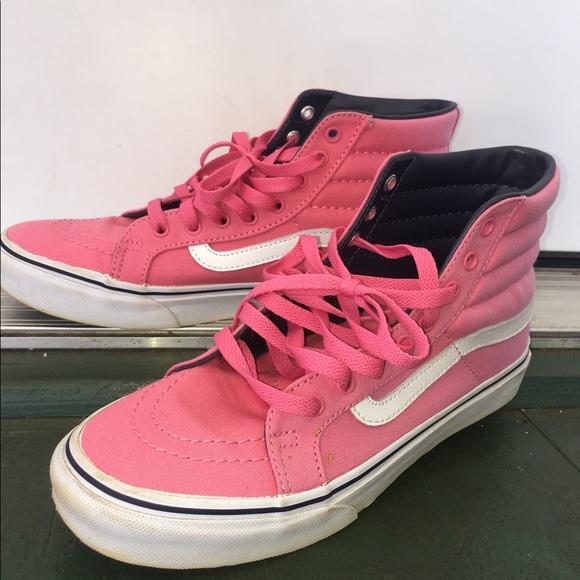 pink vans shoes for sale